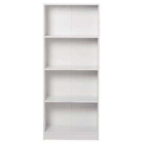 Living & Co Mason Bookcase 4 Tier White