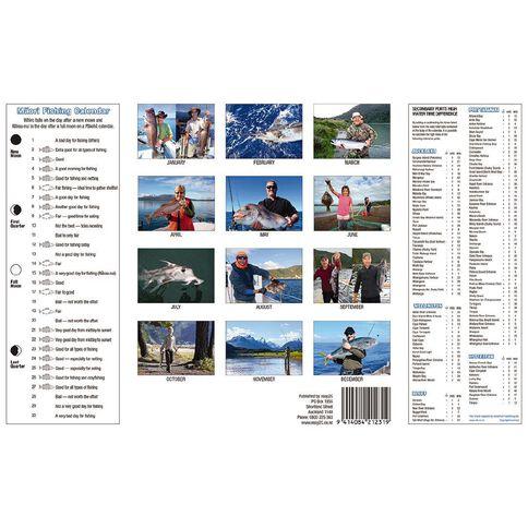 Calendar 2021 Born 2 Fish Booklet