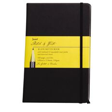 Jasart Sketch & Write Sketch Book Black A4