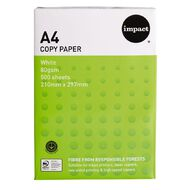 Impact Photocopy Paper 80gsm 500 Pack White