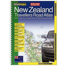 New Zealand Travellers Road Atlas