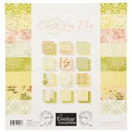 Couture Creations Cest La Vie Paper Pad 12in x 12in