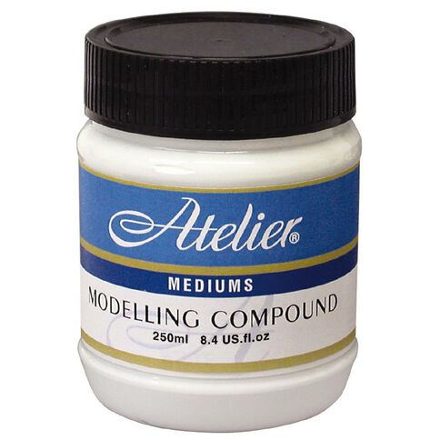 Atelier Medium Modelling Compound 250ml White