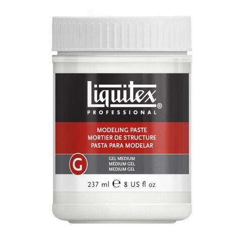 Liquitex Modeling Paste Gel Medium 237ml Clear
