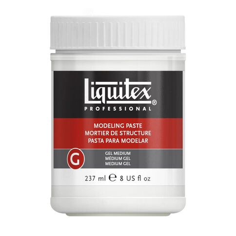 Liquitex Modeling Paste Gel Medium 237ml Clear