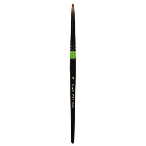 DAS Brush Manglon Blended Synthetic Fibre Round #8