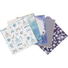 Uniti Mini Paper Stack Designer 6x6 24 Sheet Oceania
