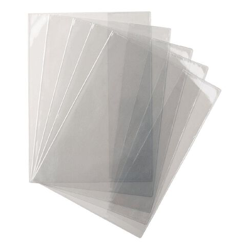 WS Book Sleeve Clear 5 Pack 1B8