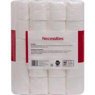 Necessities Brand Toilet Tissue 40 Pack White