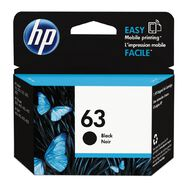 HP Ink 63 Black (190 Pages)