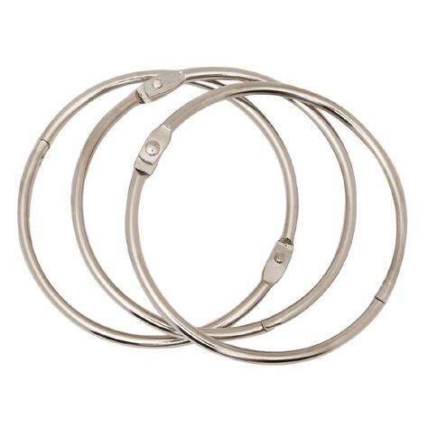 Impact Book Rings No 1 76mm 3 Pack