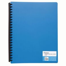 Clearfile Refillable 20 Page Assorted A4