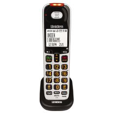 Uniden SSE07 Additional Handset SSE45 And SSE47 Silver
