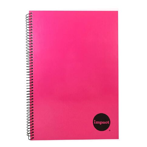 Impact Notebook Wiro Pink A4