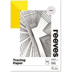 Reeves Tracing Pad 90gsm 25 Sheets A3