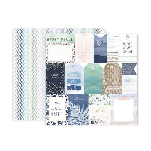 Indigo & Ivy Indigo & Ivy Paper Pack 12in x 12in 10 Sheets