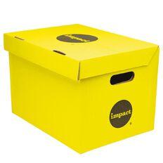 Impact Archive Box Yellow