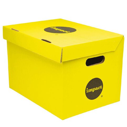Impact Archive Box Yellow