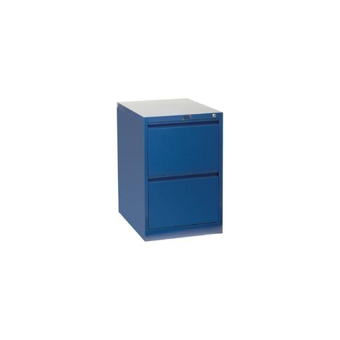 Workspace Filing Cabinet 2 Drawer Midnight Blue