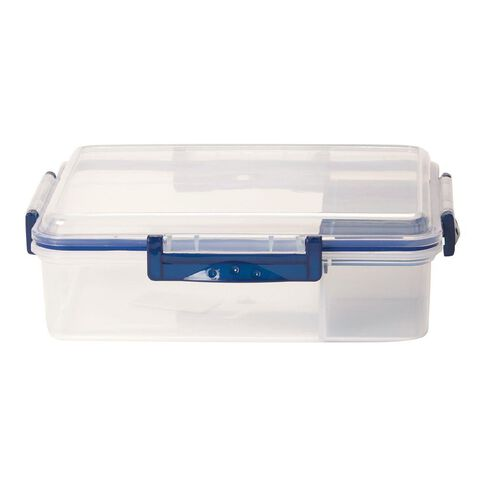 Living & Co Lunch Box with Side Compartments Navy