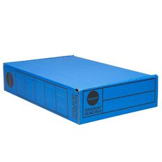 Impact Storage Box Foolscap Blue