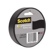 Scotch Masking Craft Tape 25mm x 18m Black