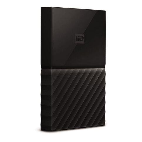 WD My Passport 1TB USB 3.0 External HDD Black
