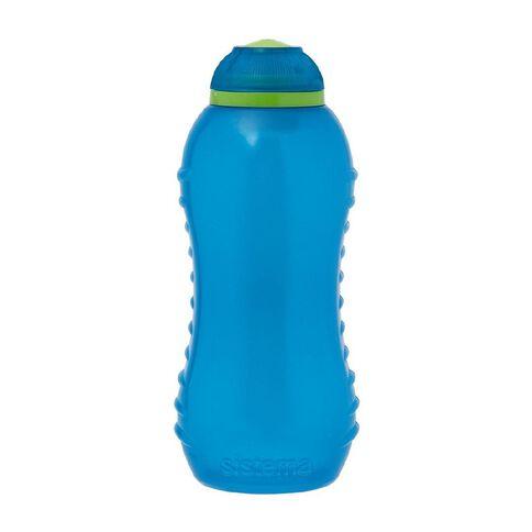 Sistema Round Drink Bottle with Twist Cap 330ml Assorted