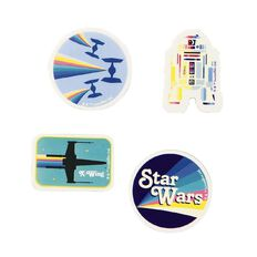 Star Wars Kids R2 D2 Erasers White 4 Pack