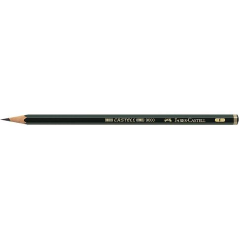 Faber-Castell 9000 Artist Pencil F