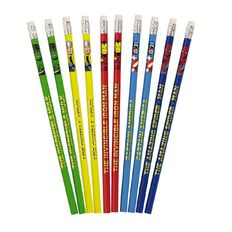 Marvel Kids Avengers Pencils 10 Pack