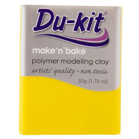 Du-kit Clay Light Yellow 50g