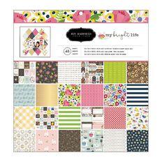 Jen Hadfield My Bright Life Paper 12in x 12in 48 Sheet