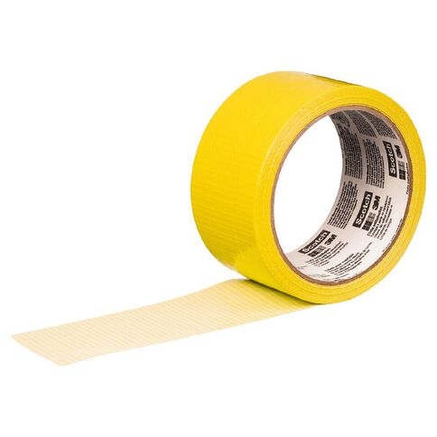 Scotch Coloured Duct Tape 48mm x 18.2m Yellow