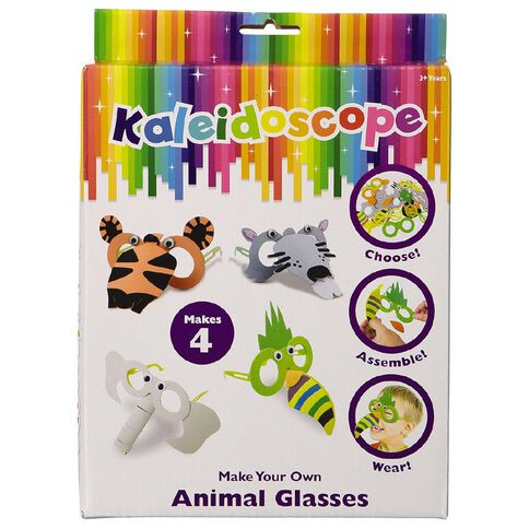 Kaleidoscope Make Your Own Animal Glasses