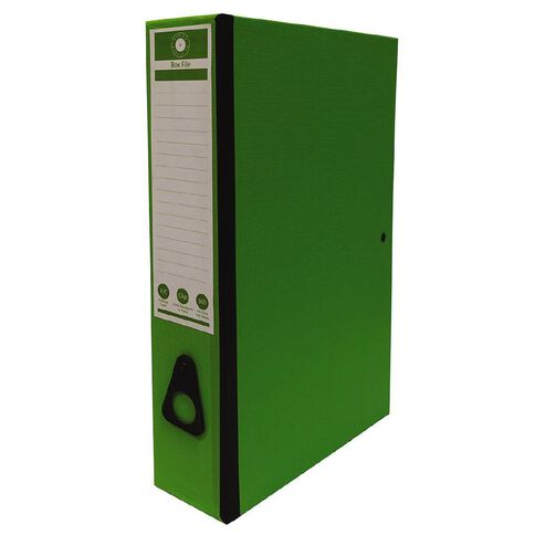 Office Supply Co F/C Box Files Green