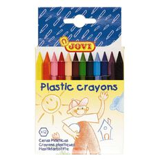 Jovi Plastic Crayons 12 Pack 12 Pack