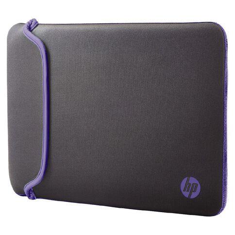 HP 11.6 inch Reversible Sleeve Grey/Purple
