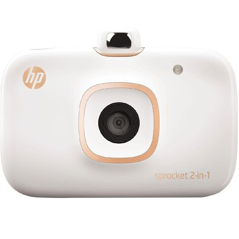 HP Sprocket 2-in-1 White