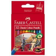 Faber-Castell Classic Colour Pencils Half 12 Pack