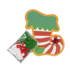 Artwrap Christmas Pom Pom Craft Kit Assorted