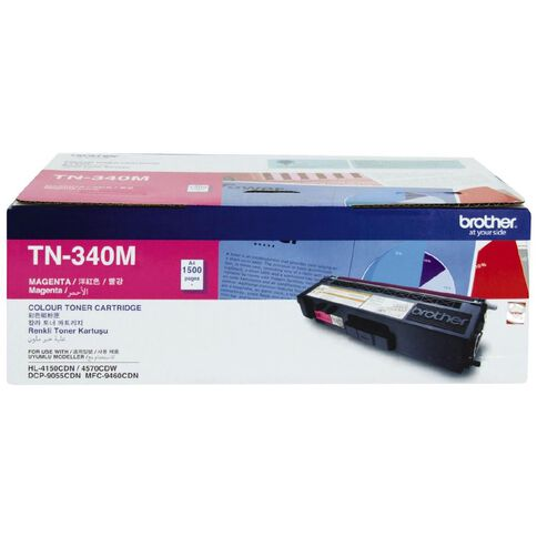 Brother Toner TN340 Magenta (1500 Pages)