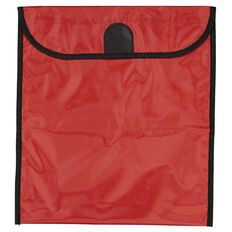 GBP Stationery Book Bag Zipper Pocket Red 370mm x 335mm