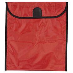 GBP Stationery Book Bag Zipper Pocket 370mm x 335mm Red