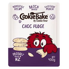 Cookie Time Bake Choc Fudge 400g