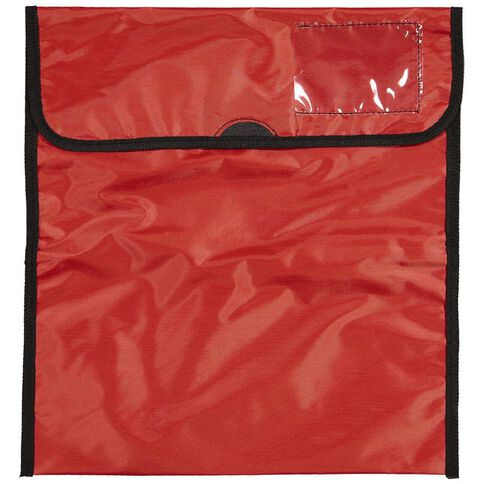 Impact Book Bag Zipper Pocket 36cm x 33cm Red