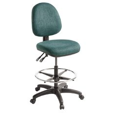 Eden Tag 2 Lever Midback Tech Chair with Footring Atlantic