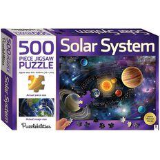 Hinkler Jigsaw Puzzle 500 Piece Solar System Multi-Coloured
