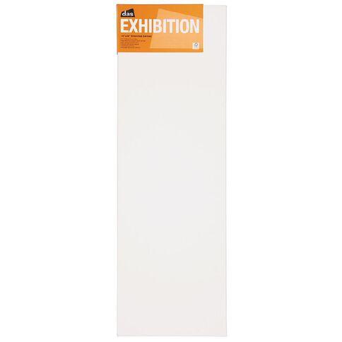 DAS 1.5 Exhibition Canvas 10 x 30in White