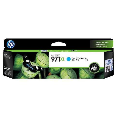 HP Ink 971XL Cyan (6600 Pages)